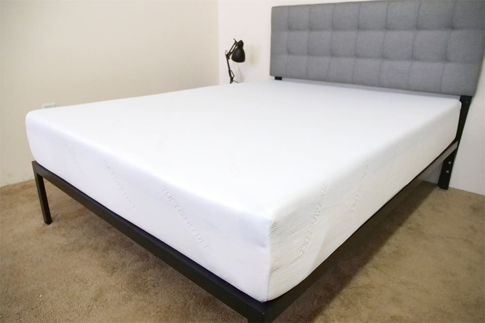 Tuft-Needle-Mattress-Corner Best Mattress for Stomach Sleepers