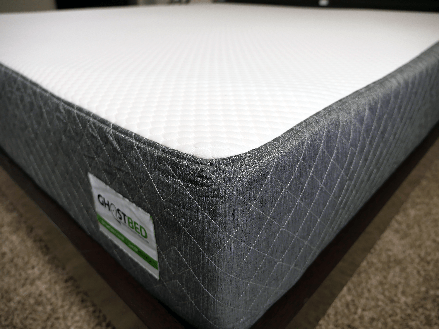 ghostbed-mattress-cover GhostBed vs. Purple Mattress Review