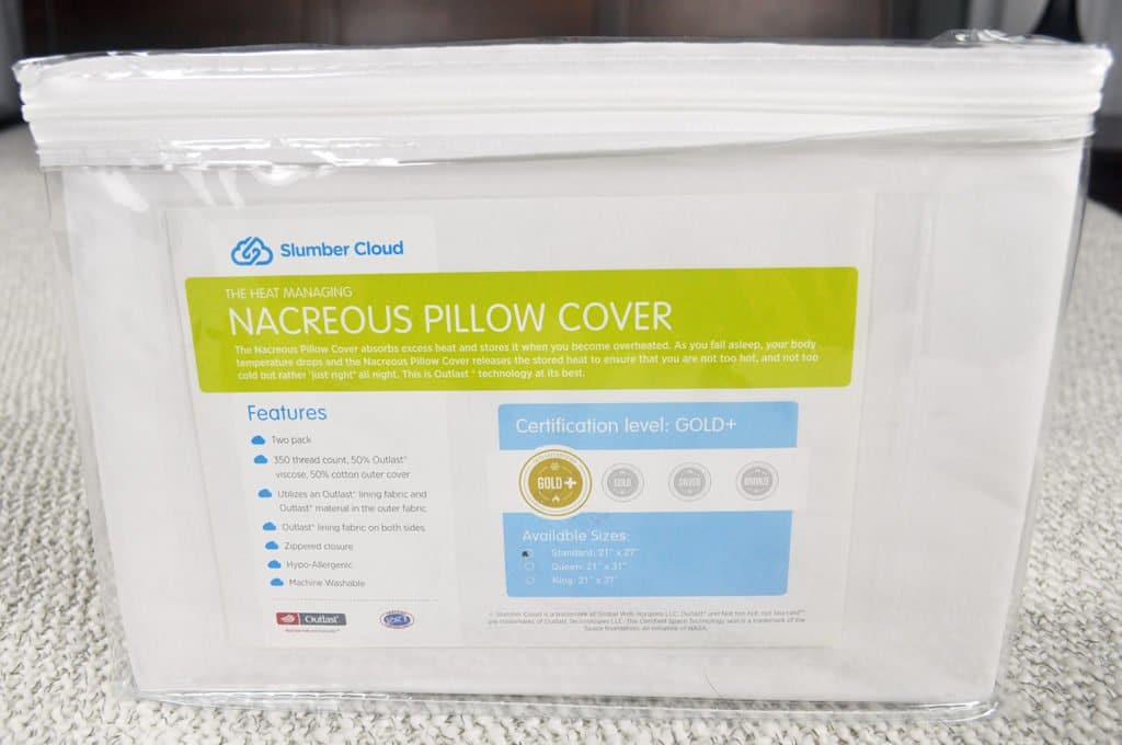 slumber-cloud-nacreous-pillow-cover-review-1024x680 Slumber Cloud Nacreous Pillow Cover Review
