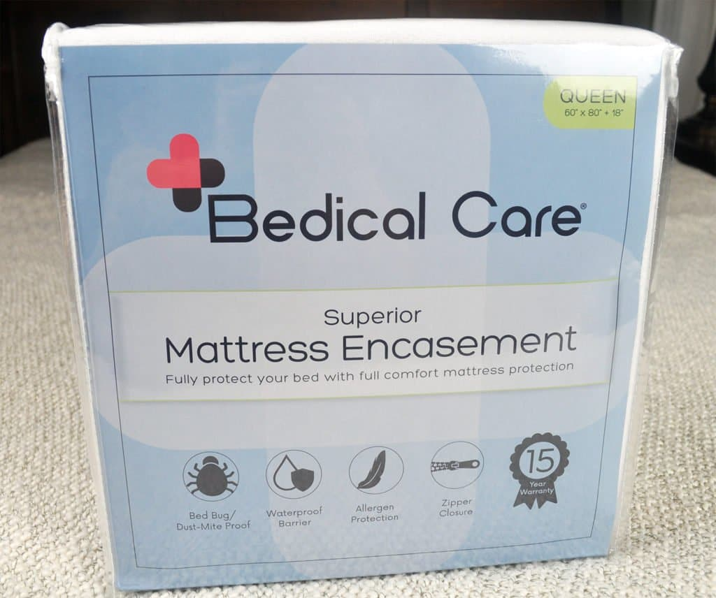 bedical-care-mattress-protector-packaging-1024x856 Bedical Care Mattress Encasement Review