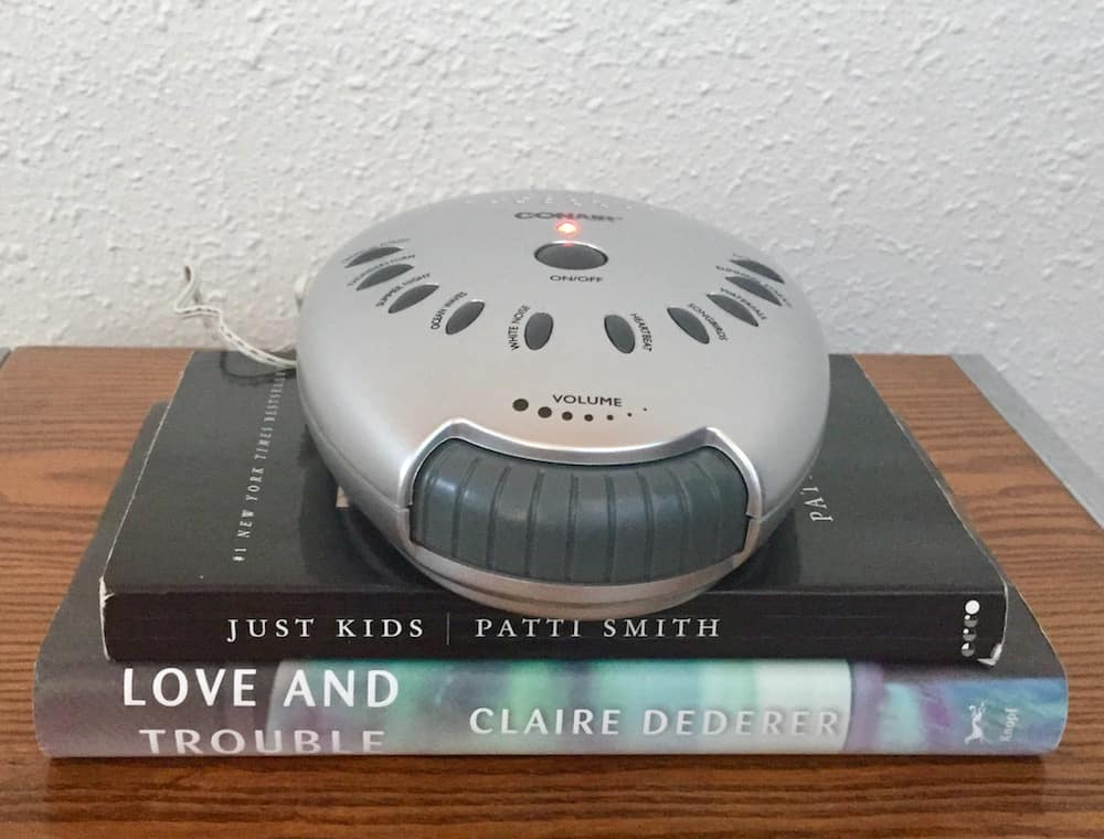 ConairSoundTherapyTable Best Reviewed White Noise Sound Machines