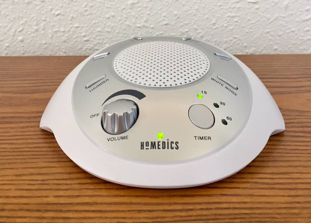 HomedicsSoundSpaReview Best Reviewed White Noise Sound Machines
