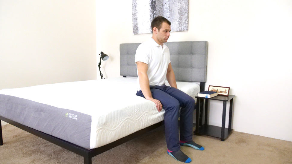 eLuxury-Supply-Edge-Support-Sitting eLuxurySupply Mattress Review