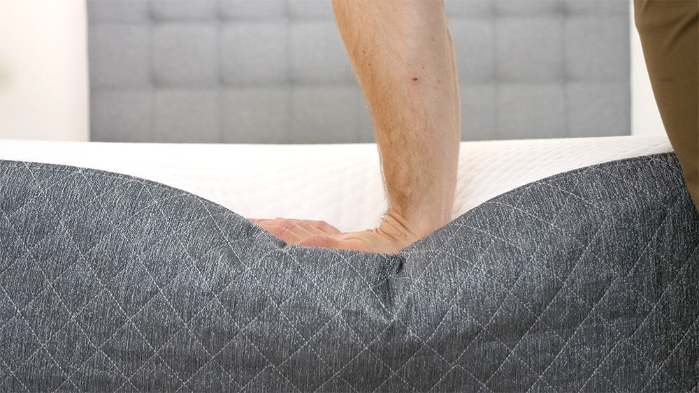 GhostBed-Mattress-Hand-Press GhostBed Mattress Review