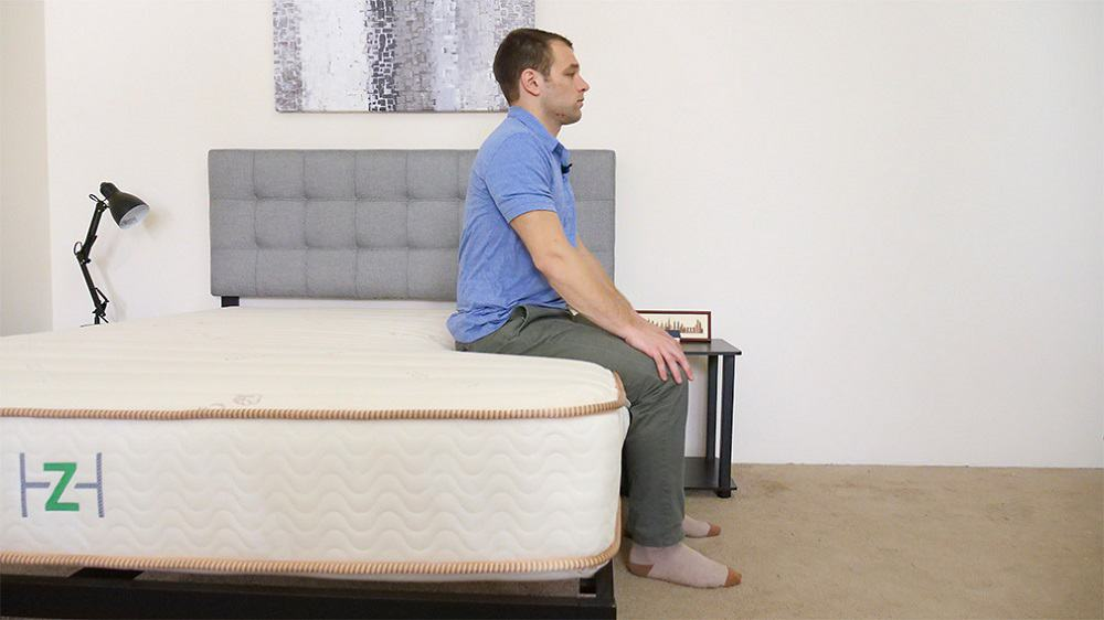 Zenhaven-Firm-Edge-Support-Seated Zenhaven Mattress Review