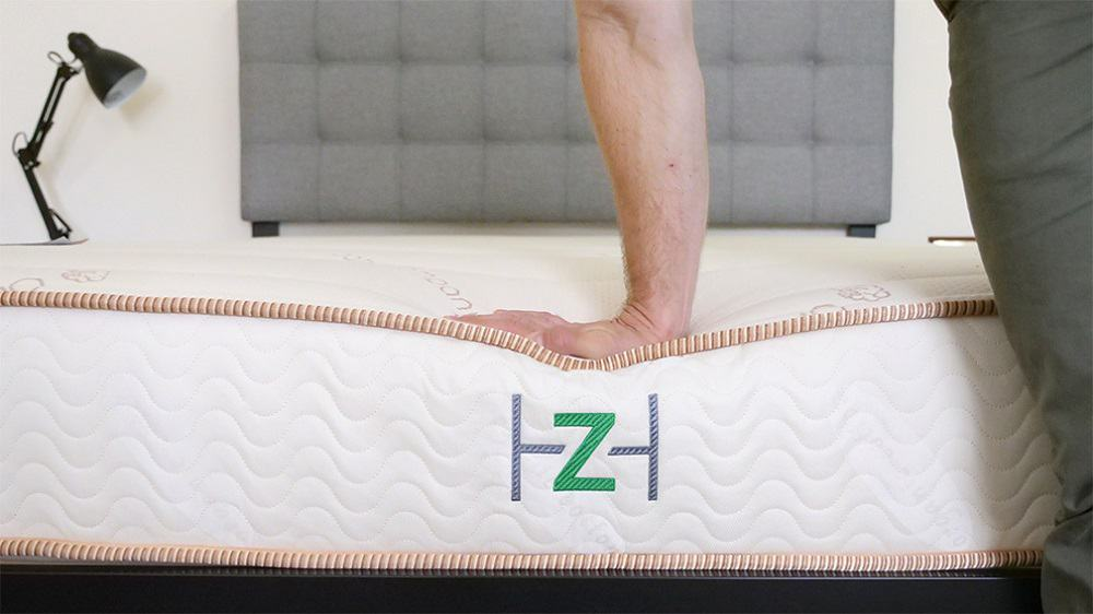 Zenhaven-Firm-Hand-Press Zenhaven Mattress Review