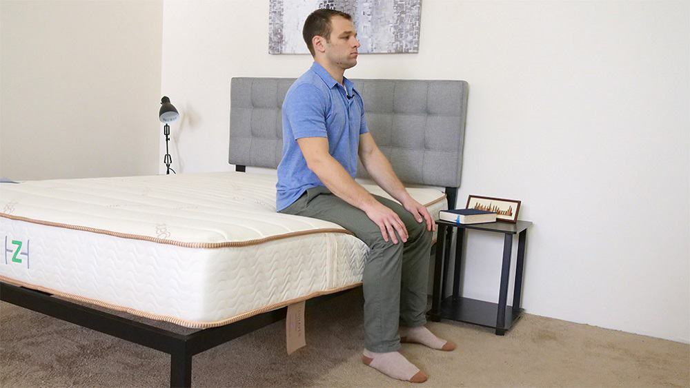 Zenhaven-Plush-Edge-Support-Seated-Corner Zenhaven Mattress Review