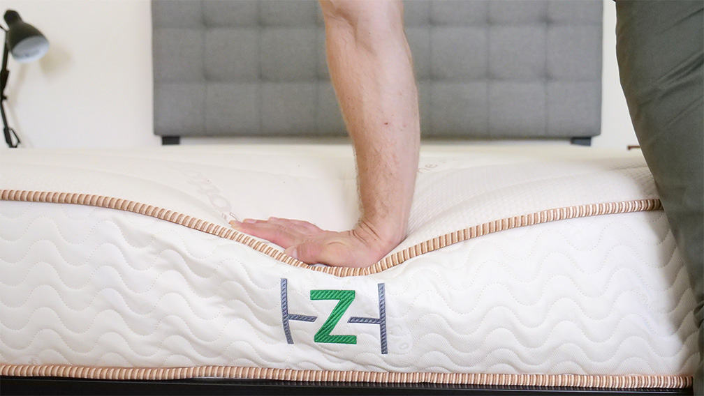 Zenhaven-Plush-Hand-Press Zenhaven Mattress Review
