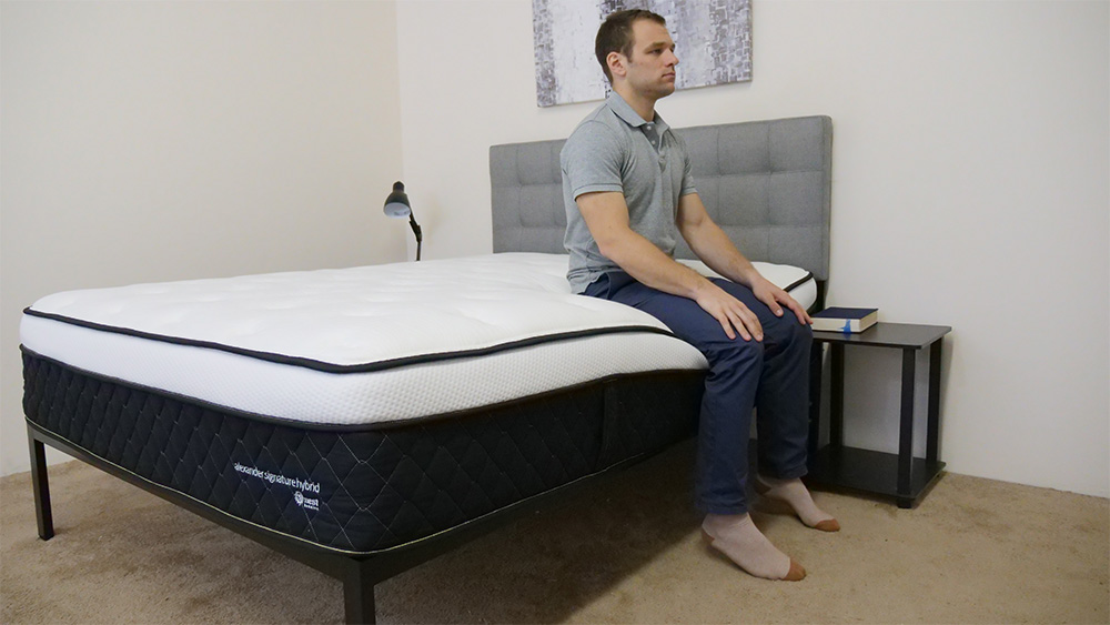 Nest-Alexander-Signature-Hybrid-Edge-Support-Corner-Seated Nest Bedding Alexander Hybrid Mattress Review