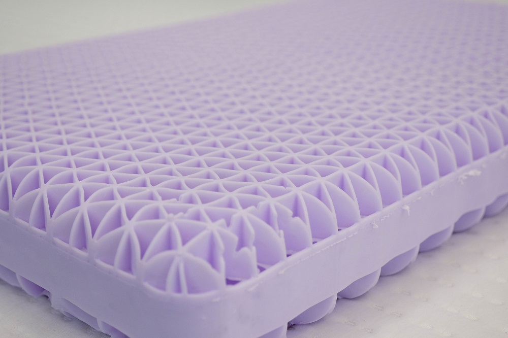 Purple-Pillow-Corner Best Pillows for Stomach Sleepers