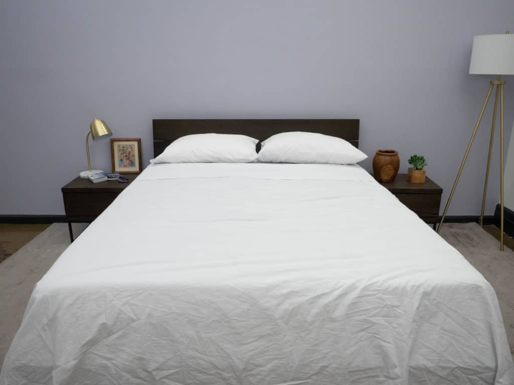 Lime-and-Leaf-Bed-Made-1024x768 Lime and Leaf Sheets Review