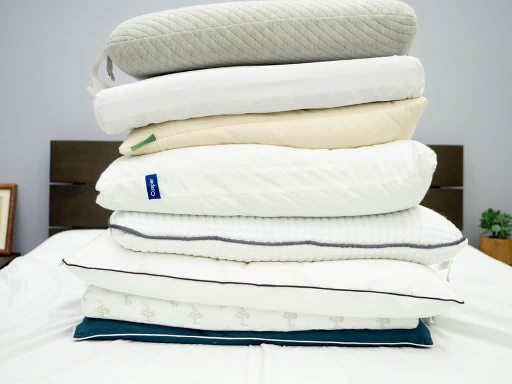 Stomach-Sleeper-Pillow-Stack-2-1024x768 Best Pillows for Stomach Sleepers