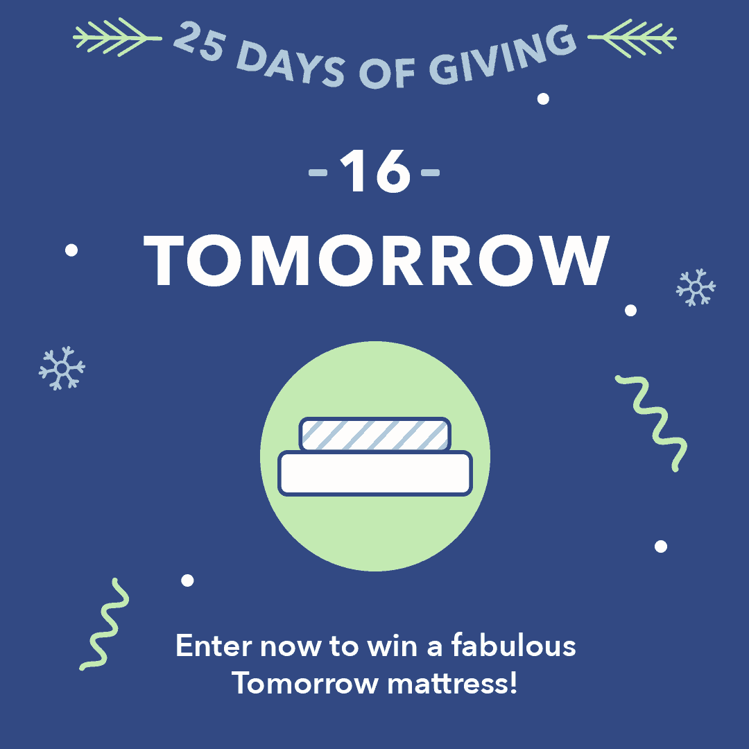25 Days of Giving Tomorrow