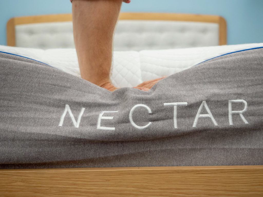 Nectar-Hand-Press-1024x768 Nectar vs. GhostBed Mattress Review