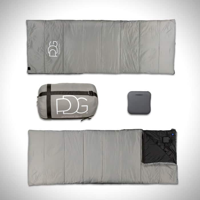 PDG-Kit Meet the World's First Heated Sleeping Bag