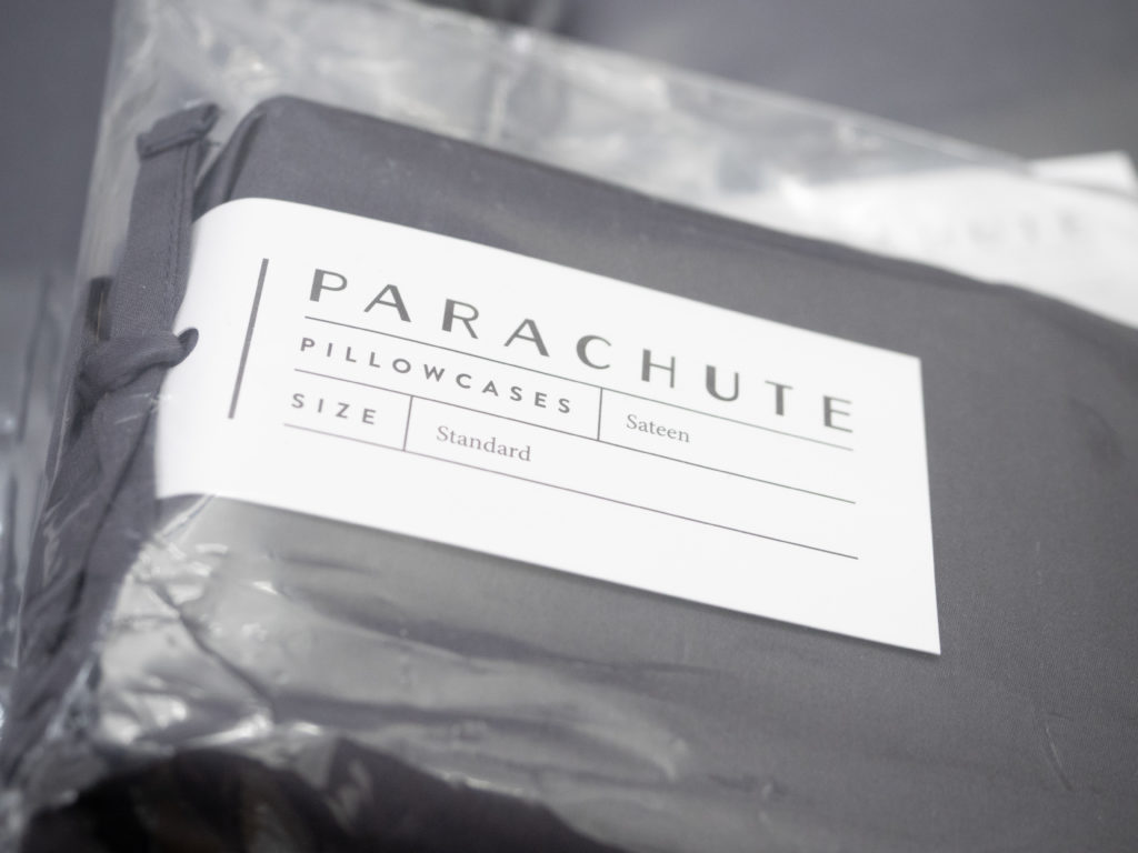 Parachute-Sheets-Packaging-1024x768 Parachute Sheets Review - Percale and Sateen